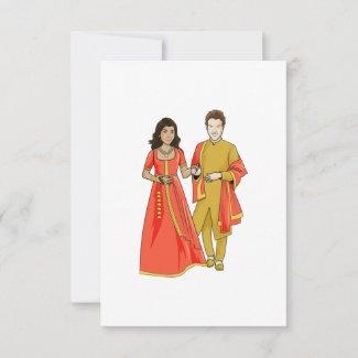Interracial Marriage Announcement