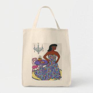Interracial, multicultural bolsa tela para la compra
