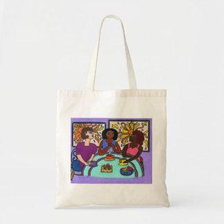 Interracial, Multicultural Budget Tote Bag