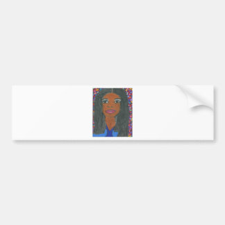 Interracial, Multicultural Bumper Sticker