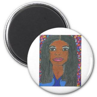 Interracial, Multicultural Fridge Magnet