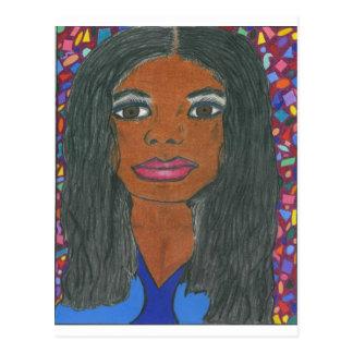 Interracial, Multicultural Postcard