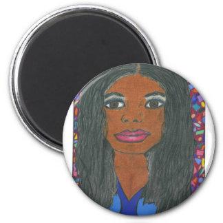 Interracial, Multicultural Refrigerator Magnet