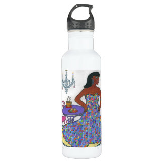 Interracial, Multicultural Stainless Steel Water Bottle