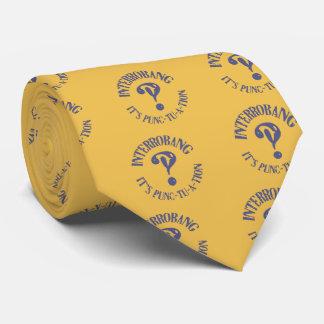 Interrobang!? Neck Tie