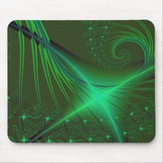 Interrumpted verde tapetes de ratones