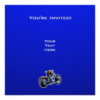 """Interruptor; Azul Invitación 5.25"""" X 5.25"""""""