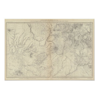 Interruptor Colorado y piezas de New México Poster
