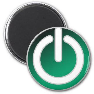 Interruptor con./desc. espera imán redondo 5 cm