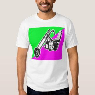 Interruptor de la bici de los años 60 del vintage camisas
