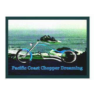 Interruptor de la Costa del Pacífico que soña 1986 Lona Envuelta Para Galerias