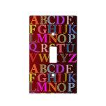 Interruptor de la luz del alfabeto cubiertas para interruptor