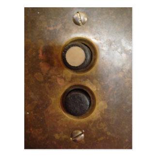 Interruptor de la luz del botón del Victorian Postal