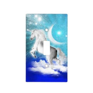 interruptor de la luz del místico-unicornio del an placas para interruptor