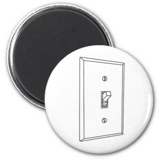 Interruptor de la luz imán redondo 5 cm