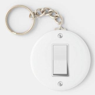 Interruptor de la luz llavero redondo tipo pin