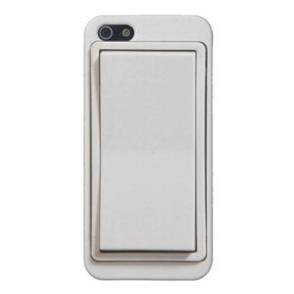 Interruptor de la luz plano iPhone 5 funda