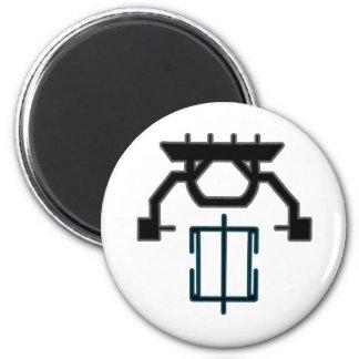 Interruptor de la psique imán redondo 5 cm