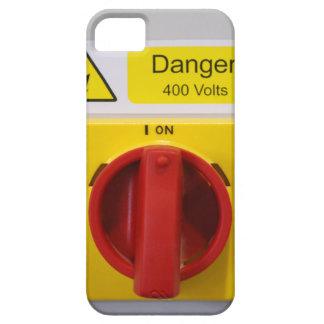Interruptor del peligro en caso del teléfono funda para iPhone SE/5/5s