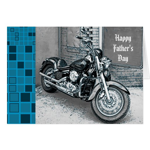 Interruptor feliz de la tarjeta del día de padre
