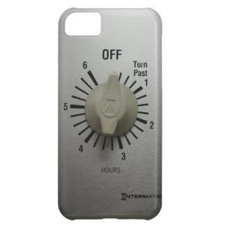 Interruptor Geeky divertido del contador de tiempo Funda Para iPhone 5C
