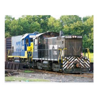 Interruptor meridional 1001 2105 de Norfolk y CSX Postal