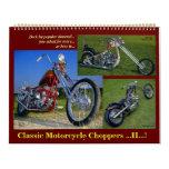 Interruptores clásicos de la motocicleta II 2015. Calendarios De Pared