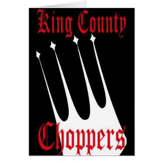 Interruptores del condado de King Tarjeta De Felicitación
