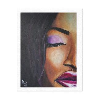 Interscopic Woman - Canvas