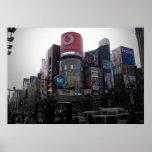 Intersección de Tokio Posters