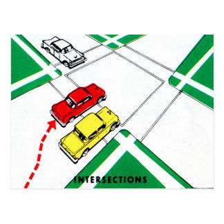 Intersecciones del manual de Ed de los conductores Postal