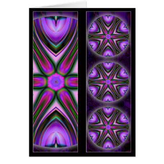 Intersect Mandala BookMark Card