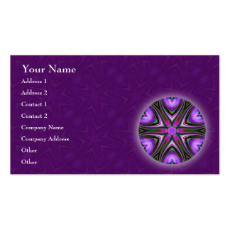 Intersect Mandala Business Card