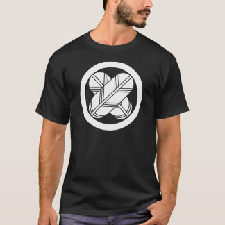 Intersecting hawk feathers in circle T-Shirt