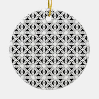 Intersecting Patterns Christmas Tree Ornament