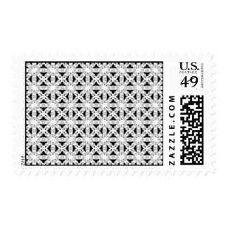 Intersecting Patterns Postage