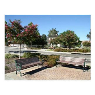 Intersection in downtown Murrieta, CA Postcard