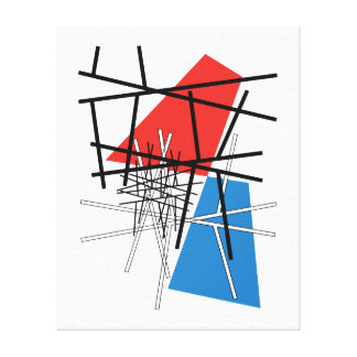 Intersection of Lines & Planes Gallery Wrap Canvas