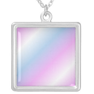 Intersex flag necklace - gradient