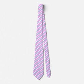 Intersex flag tie - checkered