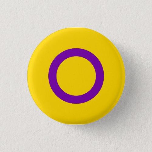 Intersex Pride Button Circle