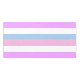 Intersex Pride Flag Door Sign