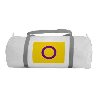INTERSEX PRIDE FLAG GYM DUFFEL BAG