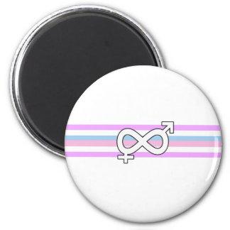 Intersex Pride Flag Magnet