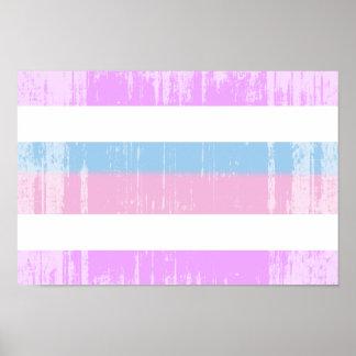 Intersex Pride Flag Poster
