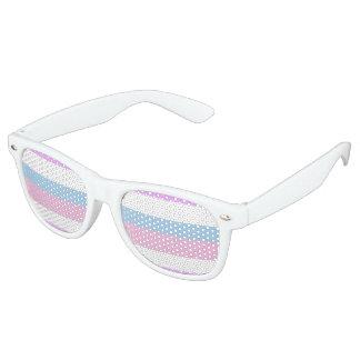 Intersex Pride Flag Retro Sunglasses