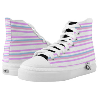 Intersex Pride High-Top Sneakers