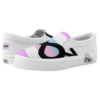 Intersex Pride Slip-On Sneakers