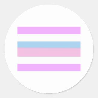 Intersexed Pride Flag Sticker