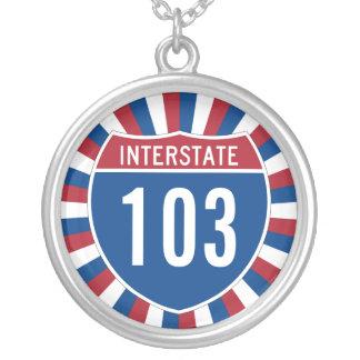 Interstate 103 Necklace